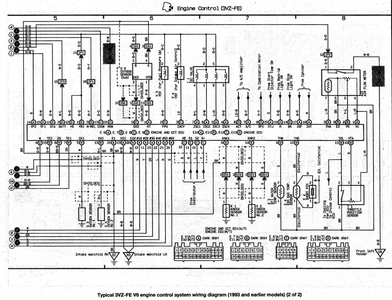 2zzge Wiring Diagram 20 Images Diagrams 2zz Ge Pinout Wire Harness 3vzfewiringdiagram02 3vz Fe Into 1973 Rt 81 Corona At Cita