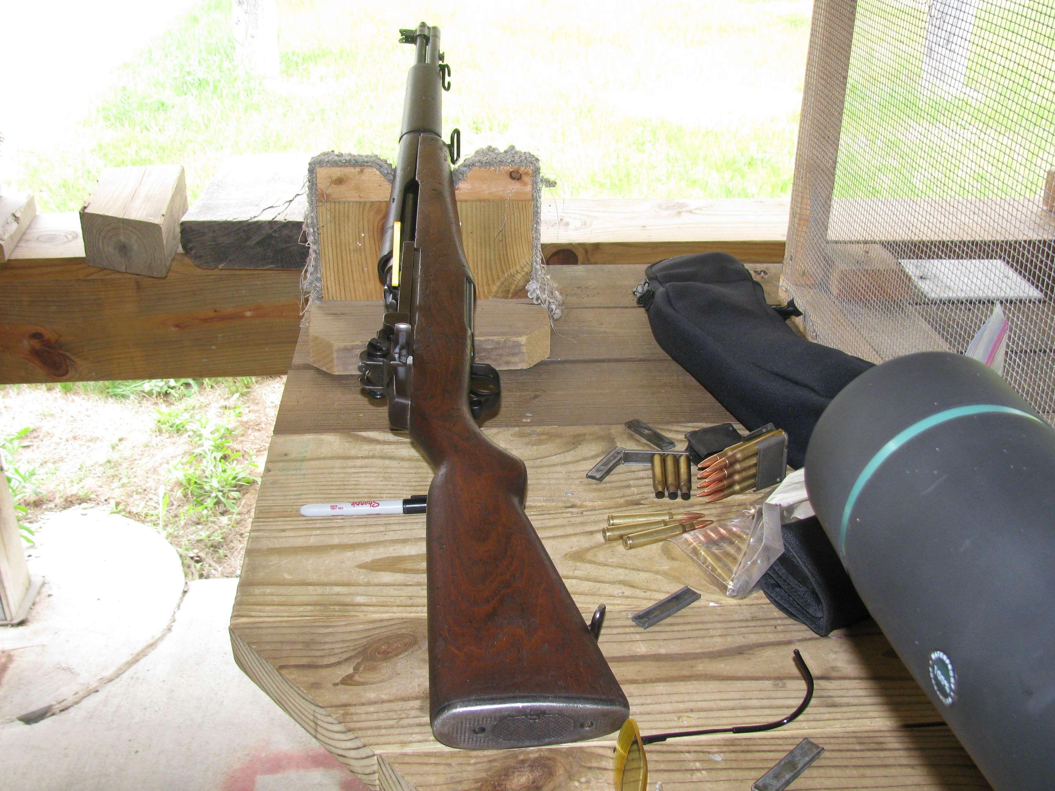 First wack with a M1 Garand - Range Report
