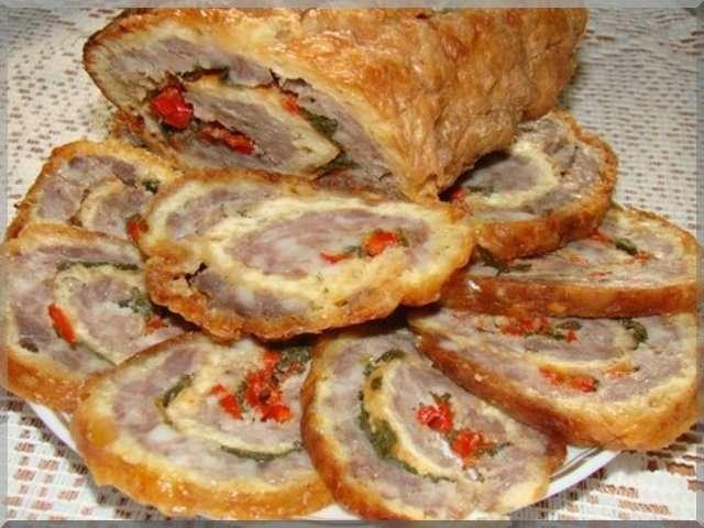 праздничные мясные блюда рецепты фото