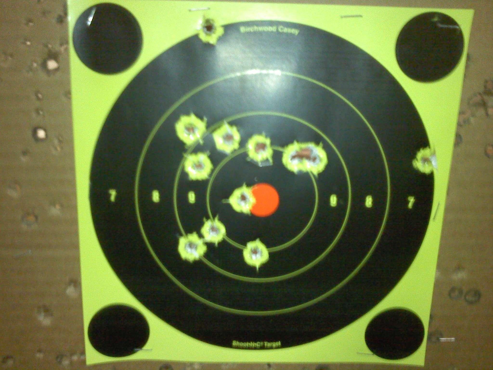 XDM 45 round two - Range Report