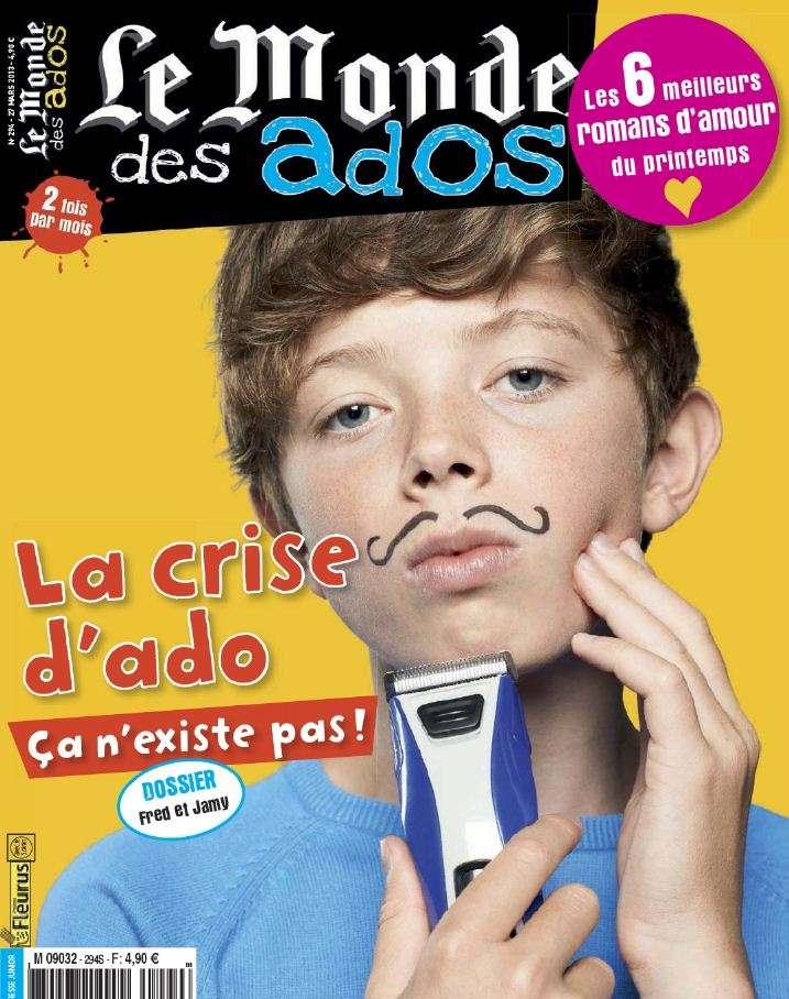 Le Monde des Ados N°294 du 27 Mars au 9 Avril 2013