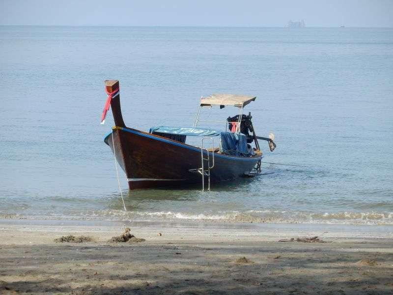 unser Boot für die Schorcheltour
