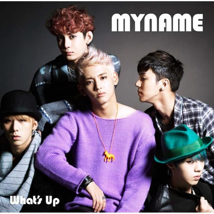 [Single] MYNAME - What's Up [Japanese]